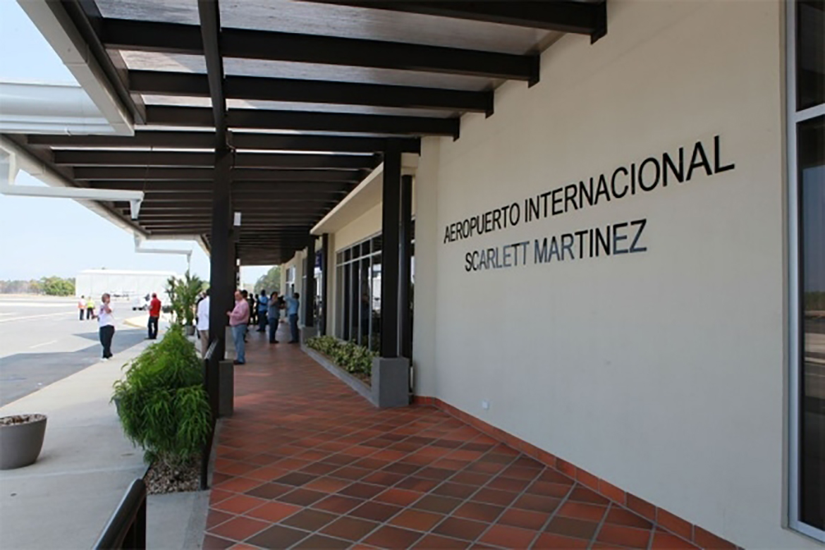 AÉROPORT INTERNATIONAL SCARLETT MARTÍNEZ DE RIO HATO