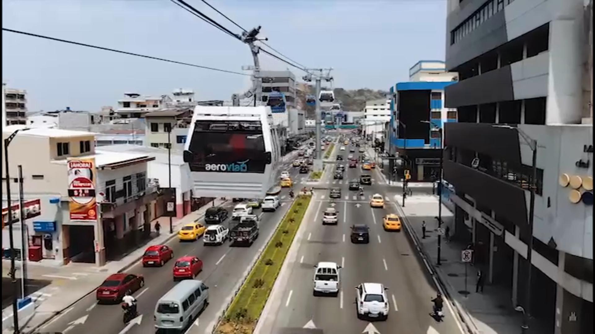 Inauguración Proyecto Aerovia Guayaquil